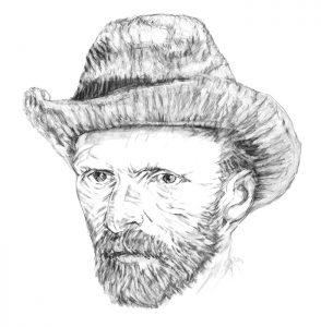Tirage réalisé en Digigraphie de Vincent Vang Gogh - AïchaBendafi - Arles